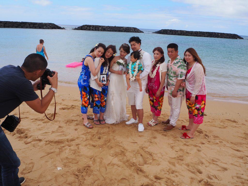 ハワイ 家族写真 記念撮影 人気
