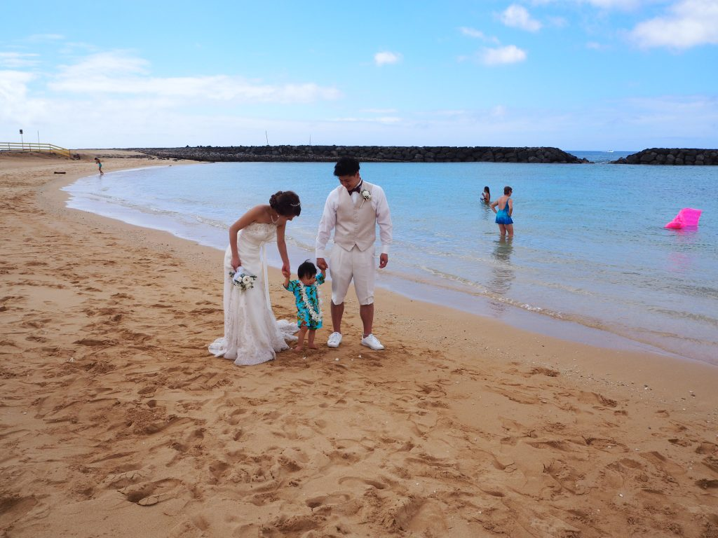 ハワイ ファミリーフォト 家族写真