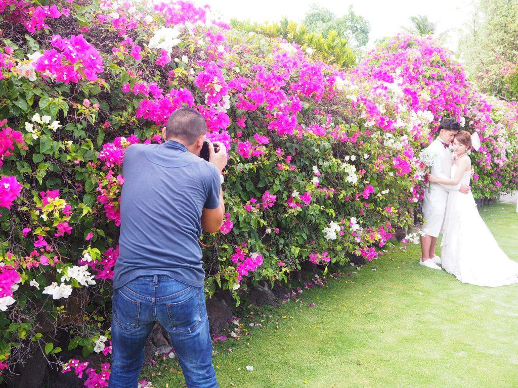ハワイ フォトウェディング 撮影 カメラマン