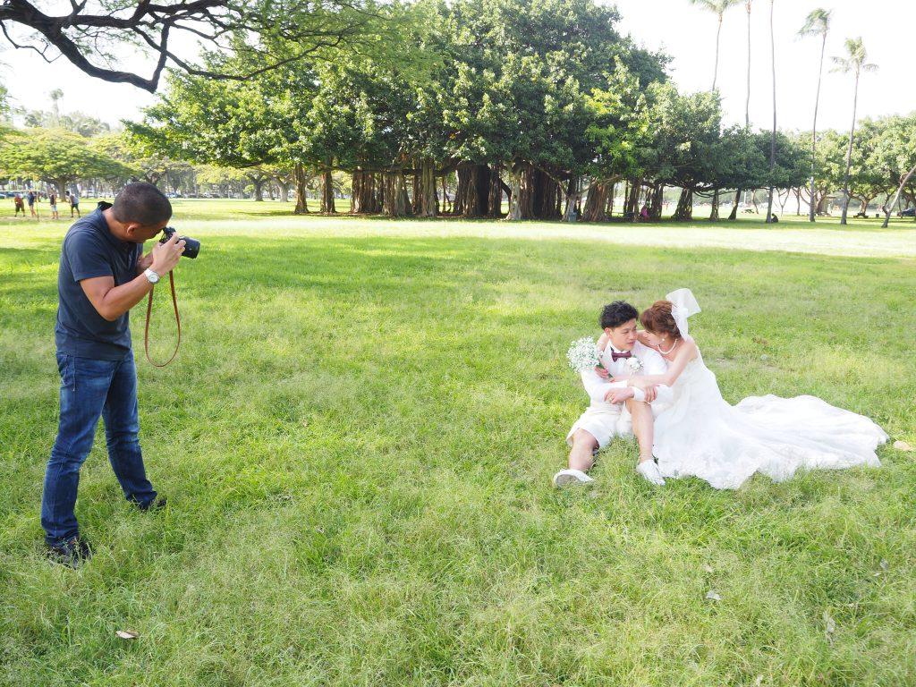 ハワイ 撮影 フォトウェディング カメラマンGeorge