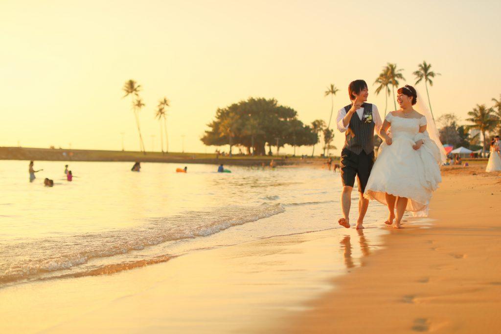 ハワイ アラモアナビーチパーク 撮影 フォトツアー