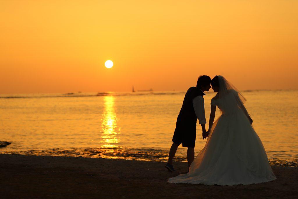 ハワイ ロマンチック おすすめ 撮影 サンセット撮影