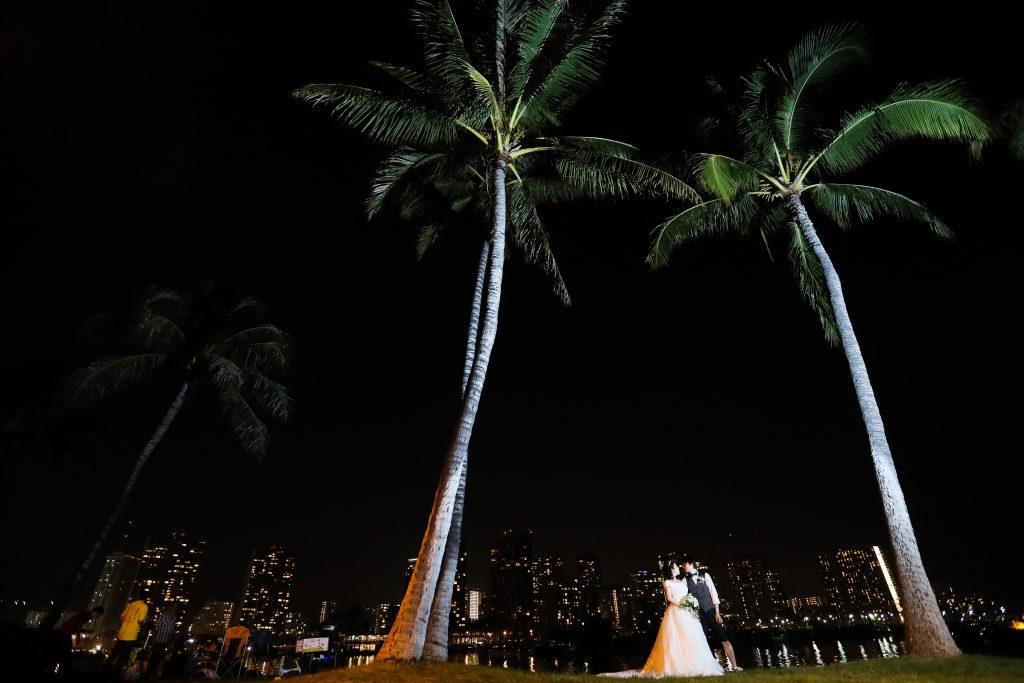 夜景 撮影 ハワイ AFLOAT Hawaii Photo