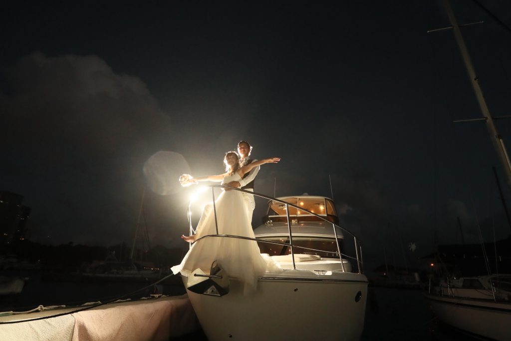 ハワイ 夜景フォトツアー タイタニック