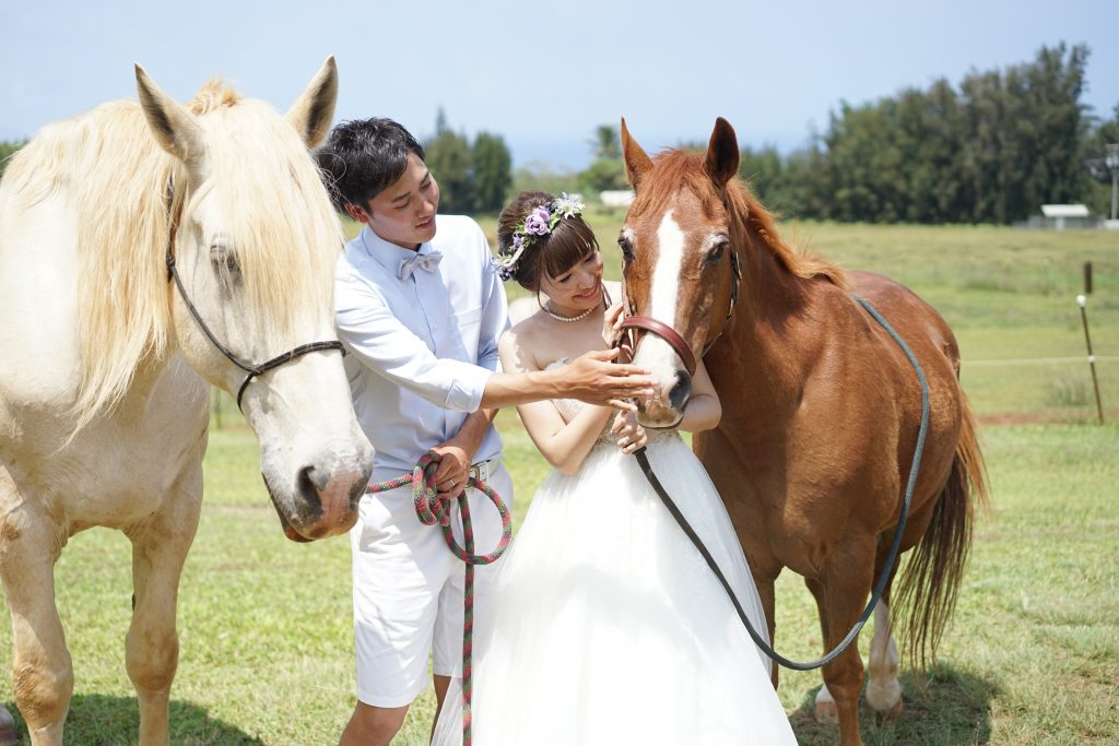 山形稜馬 結婚式 ハワイフォトウェディング