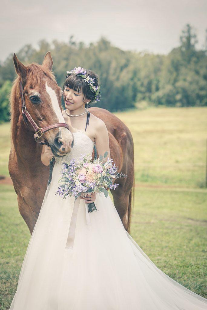 山形陵馬 結婚 ハワイ フォトウェディング