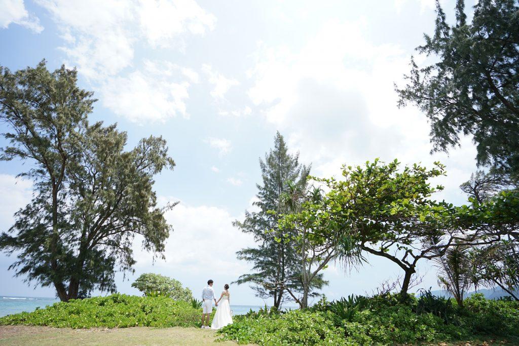 ハワイ アフロート ビーチ撮影