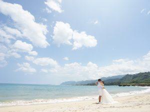 ビーチ撮影 ハワイ アフロート