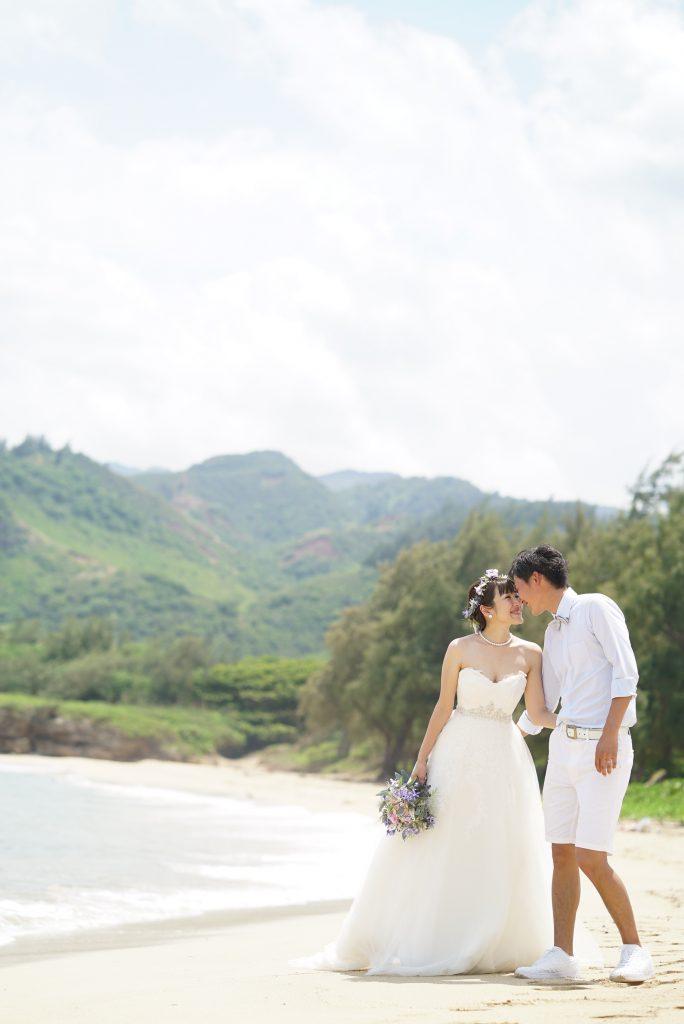 ハワイ ビーチ挙式 撮影 人気
