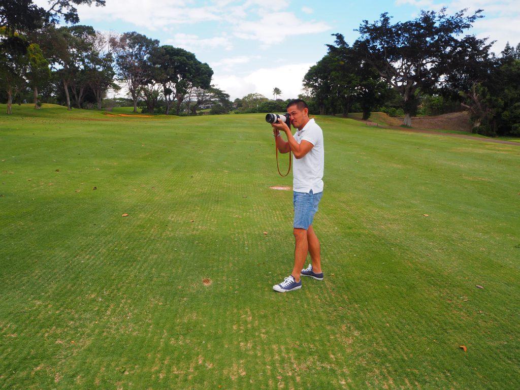 ハワイ フォトツアー ゴルフ 面白い