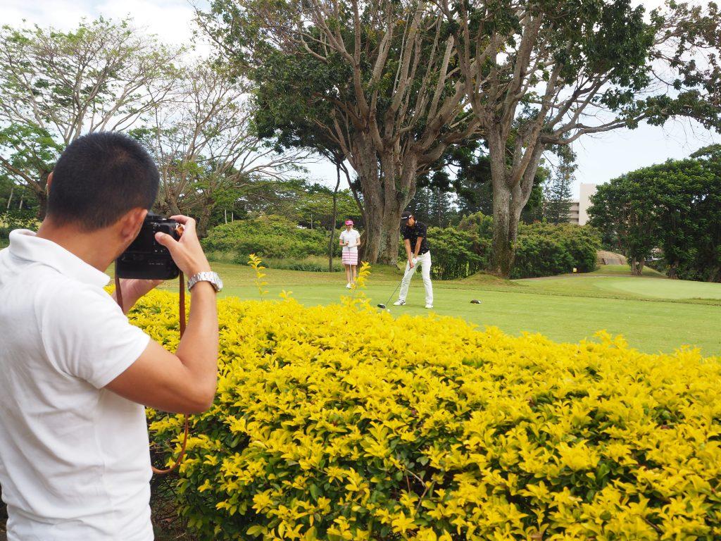 ゴルフ ハワイ フォトツアー