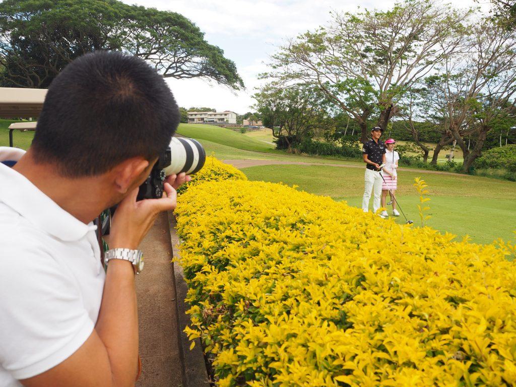 カポレイゴルフクラブ ハワイ フォトウェディング