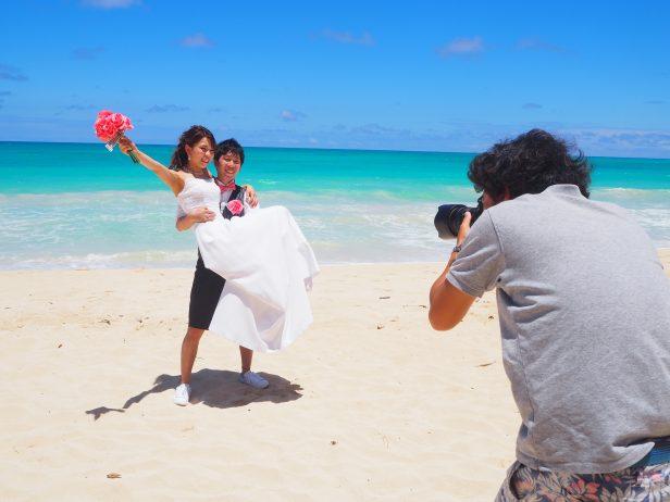 ハワイ フォトウェディング 撮影 人気