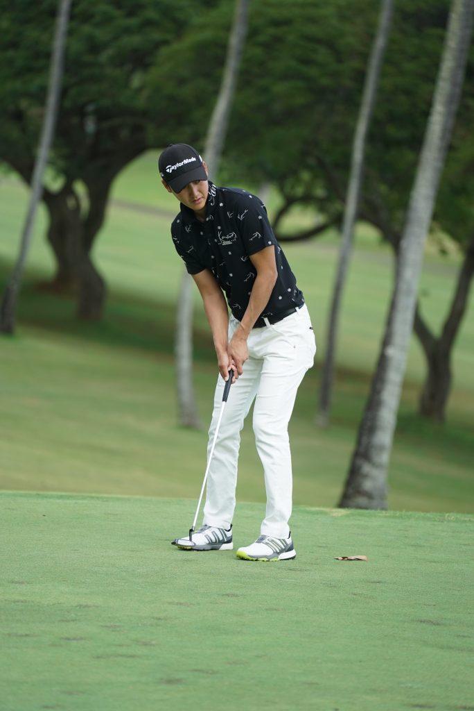 ハワイ ゴルフ選手 フォトウェディング