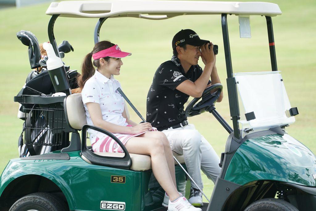 ハワイ カップル ゴルフ プロゴルファー