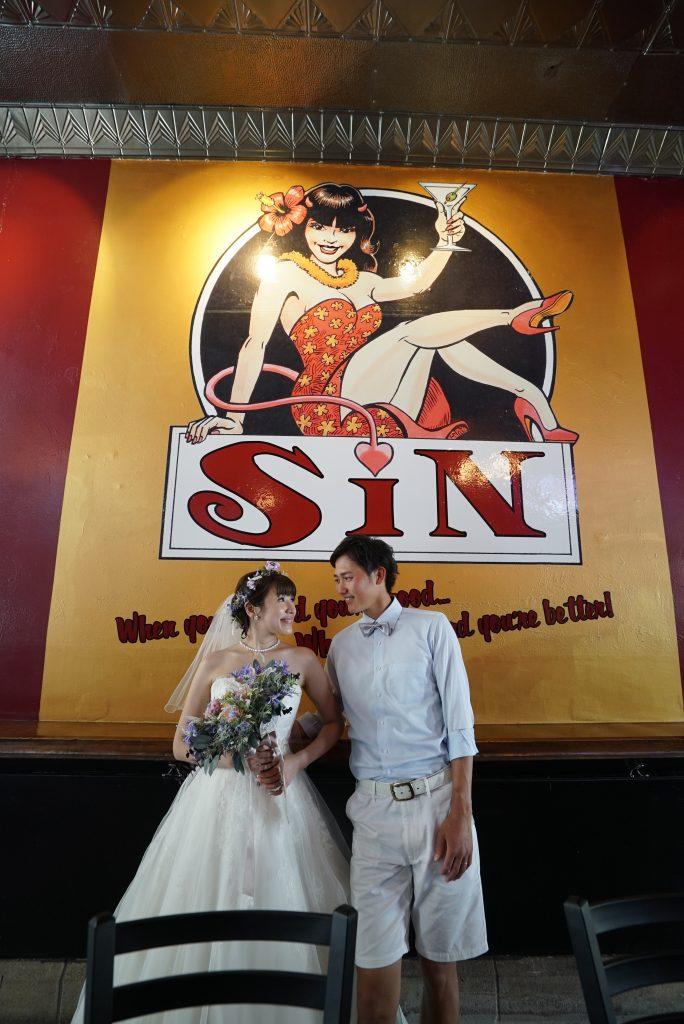 ハワイ ダウンタウン 撮影 Sin Lonuge