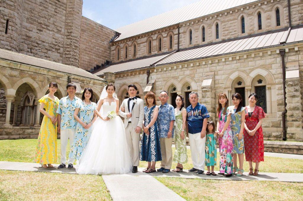 セントアンドリュース大聖堂 ハワイ挙式 アフロートハワイ P会社