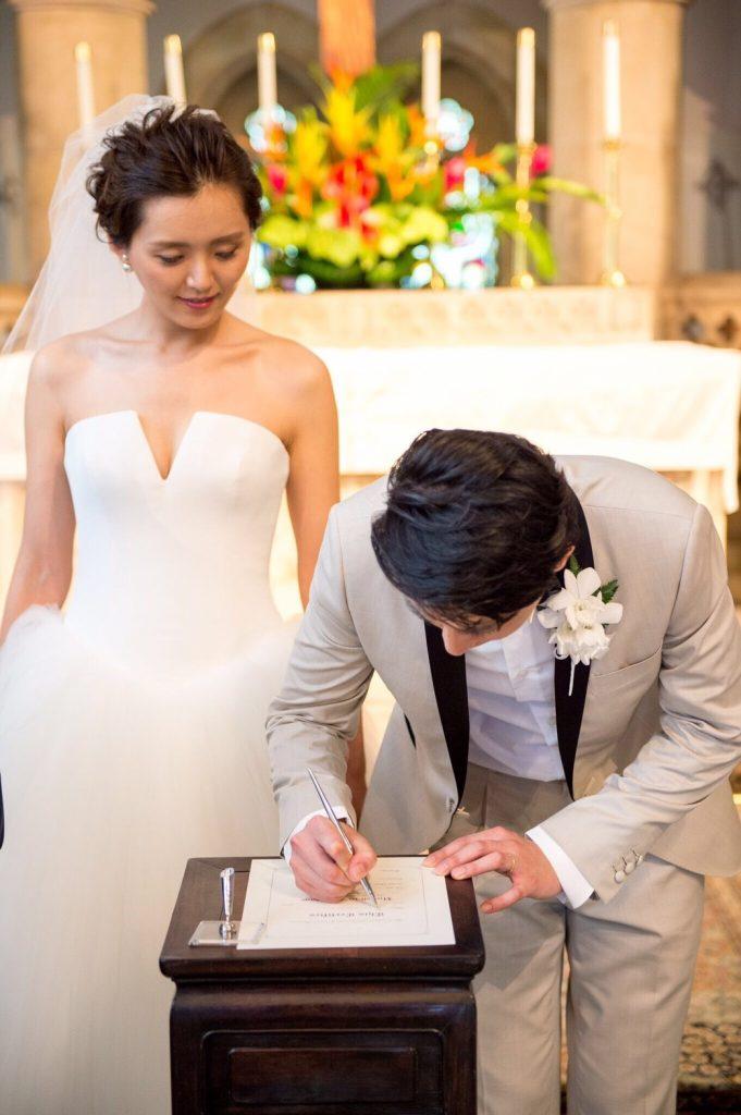 結婚証明書 ハワイ プレゼント