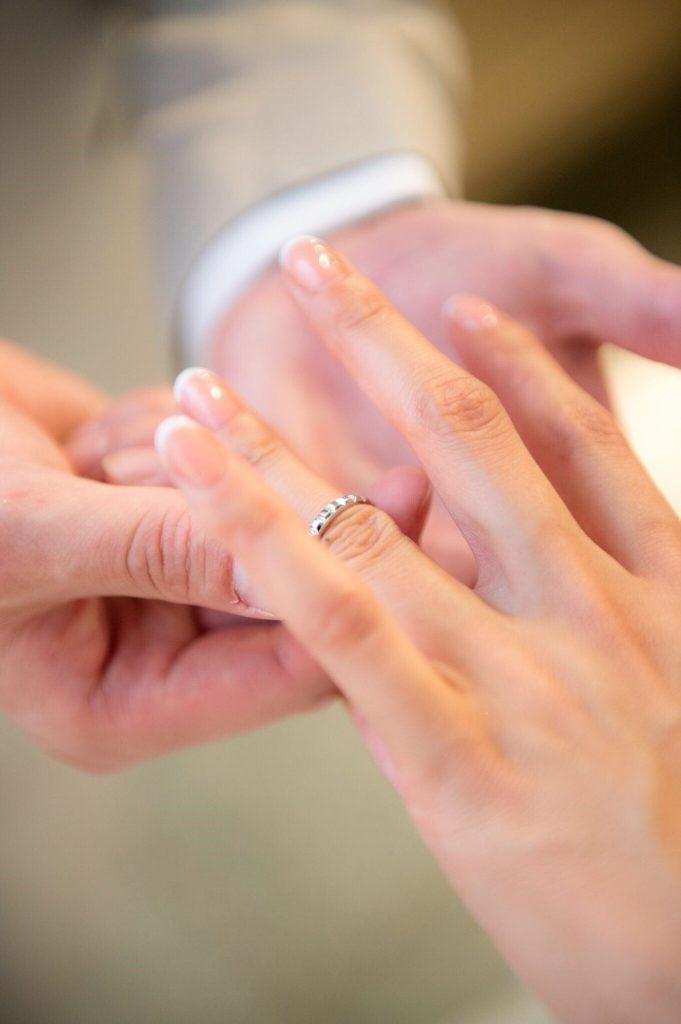 ハワイ 指輪交換 撮影
