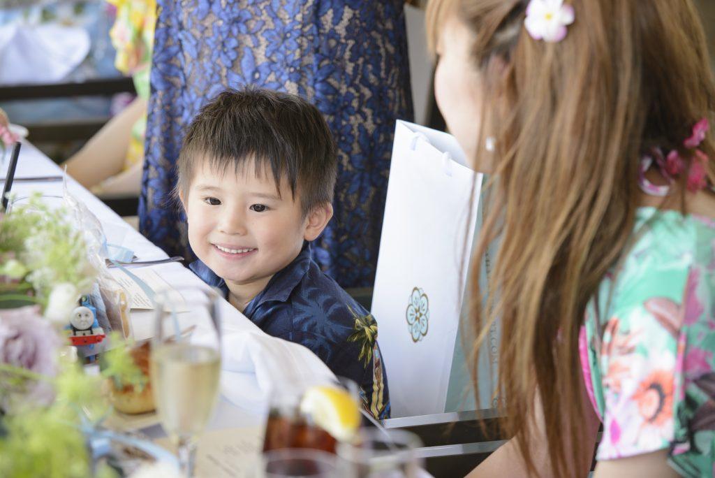 ハワイウェディング 結婚式 レセプションパーティー