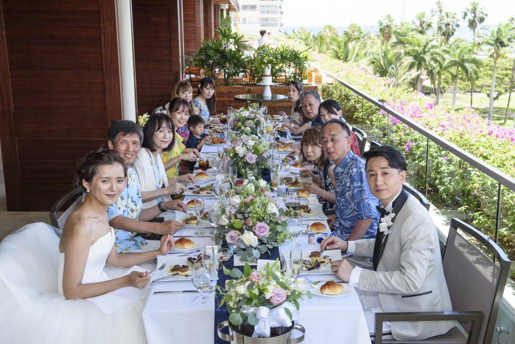 ハワイ レセプションパーティー 美味しい トランプホテル