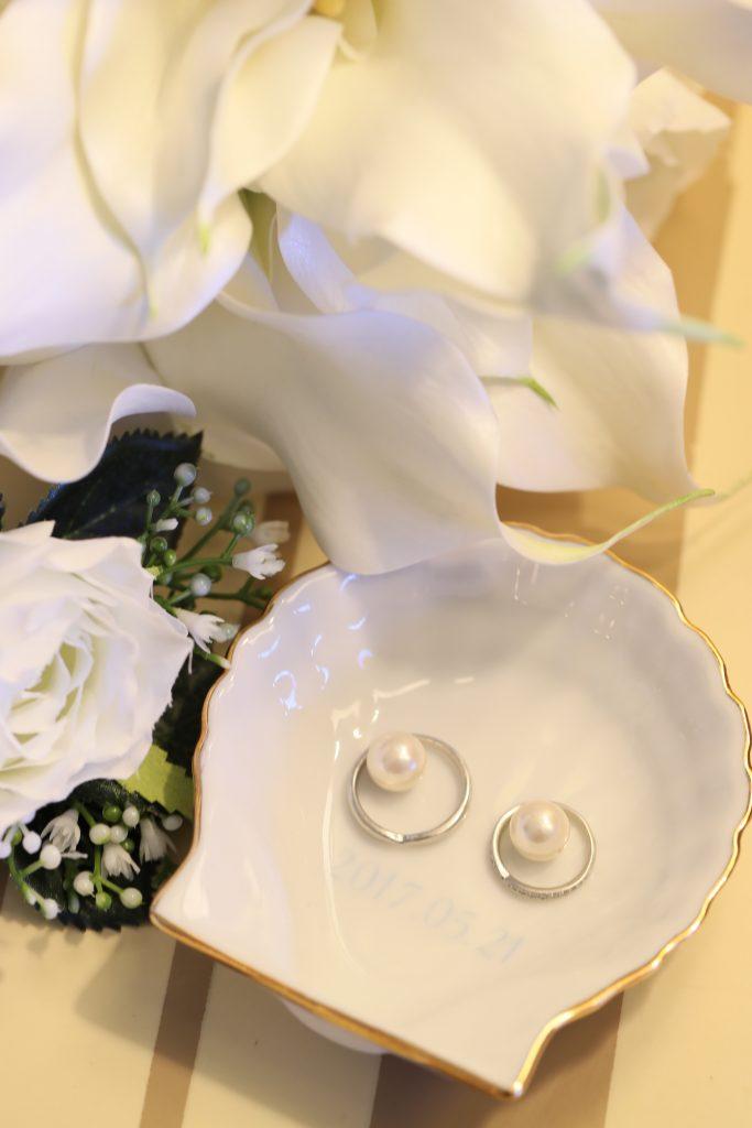 結婚指輪 撮影 ハワイウェディング