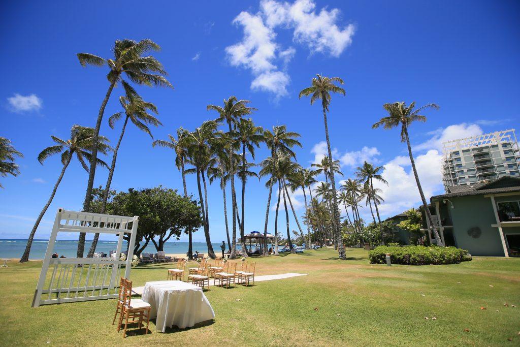ハワイ 撮影 挙式 アフロートハワイ