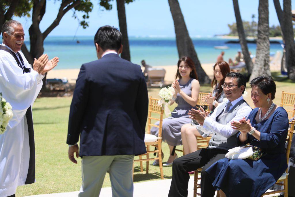 ハワイ カハラホテル 挙式