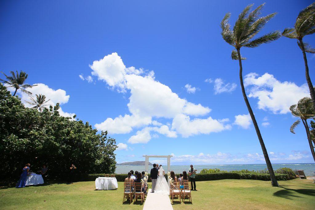ハワイ ウェディング 挙式 カハラ挙式