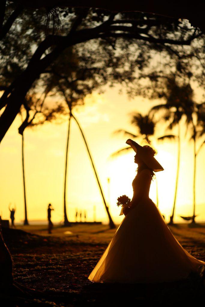 ハワイ ハネムーン撮影 前撮り