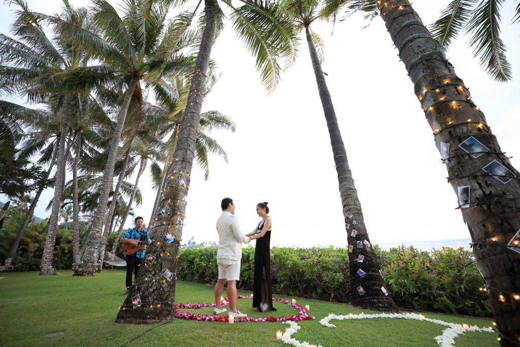ハワイ サプライズ AFLOAT Hawaii