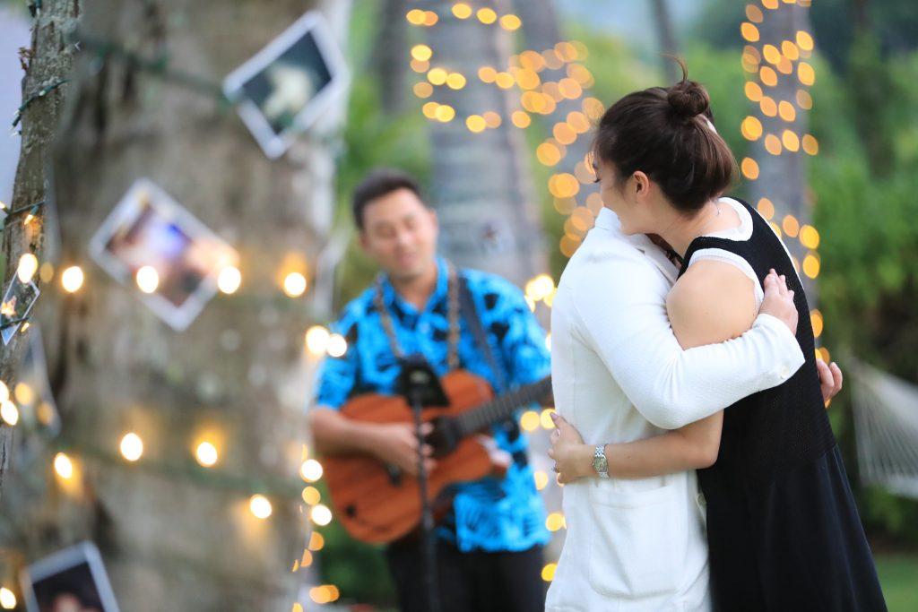 ハワイ プロポーズ 成功