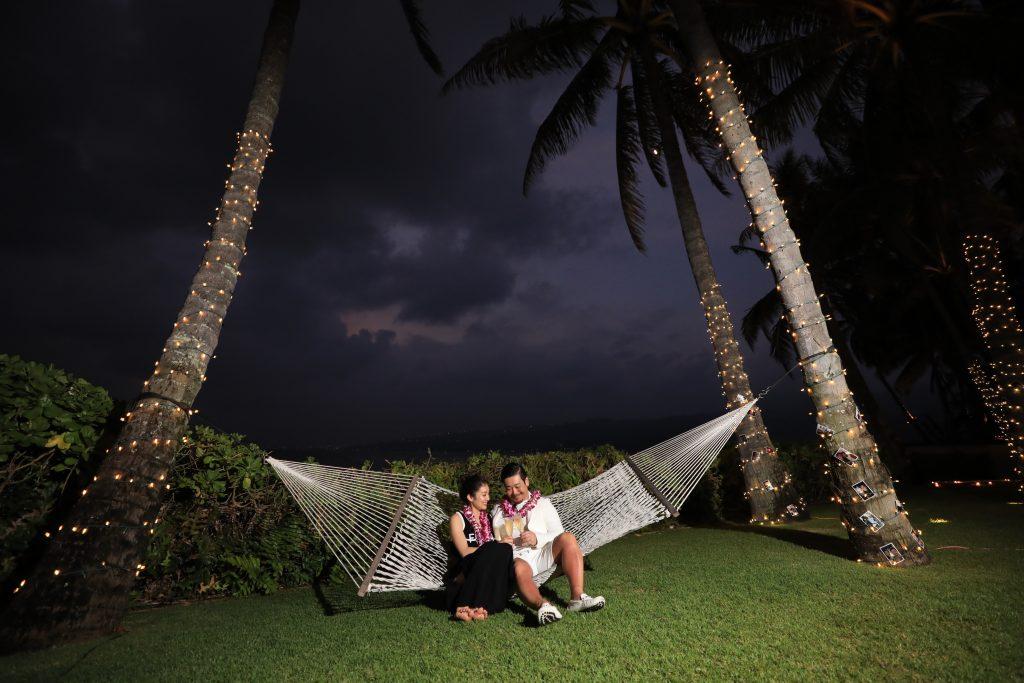 ハワイ 邸宅ウェディング 撮影