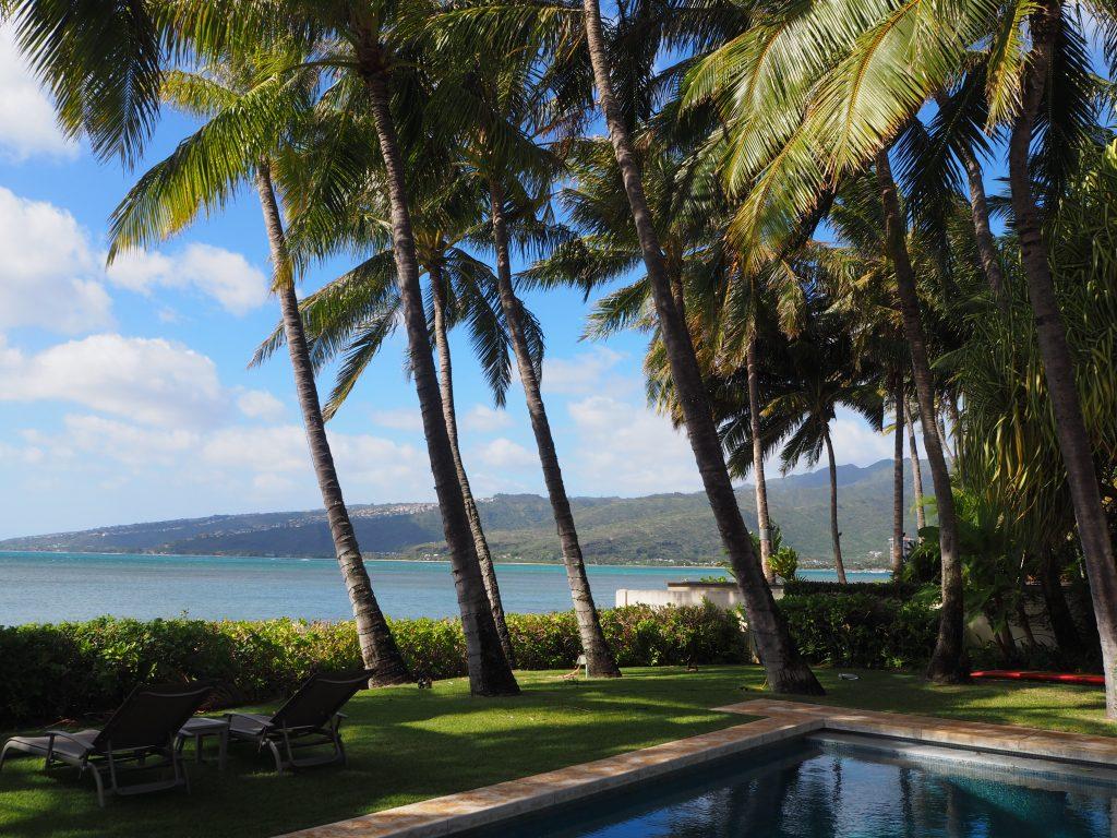 ハワイ サプライズ 邸宅