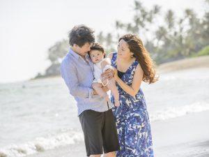 ハワイ 子供 一緒 撮影