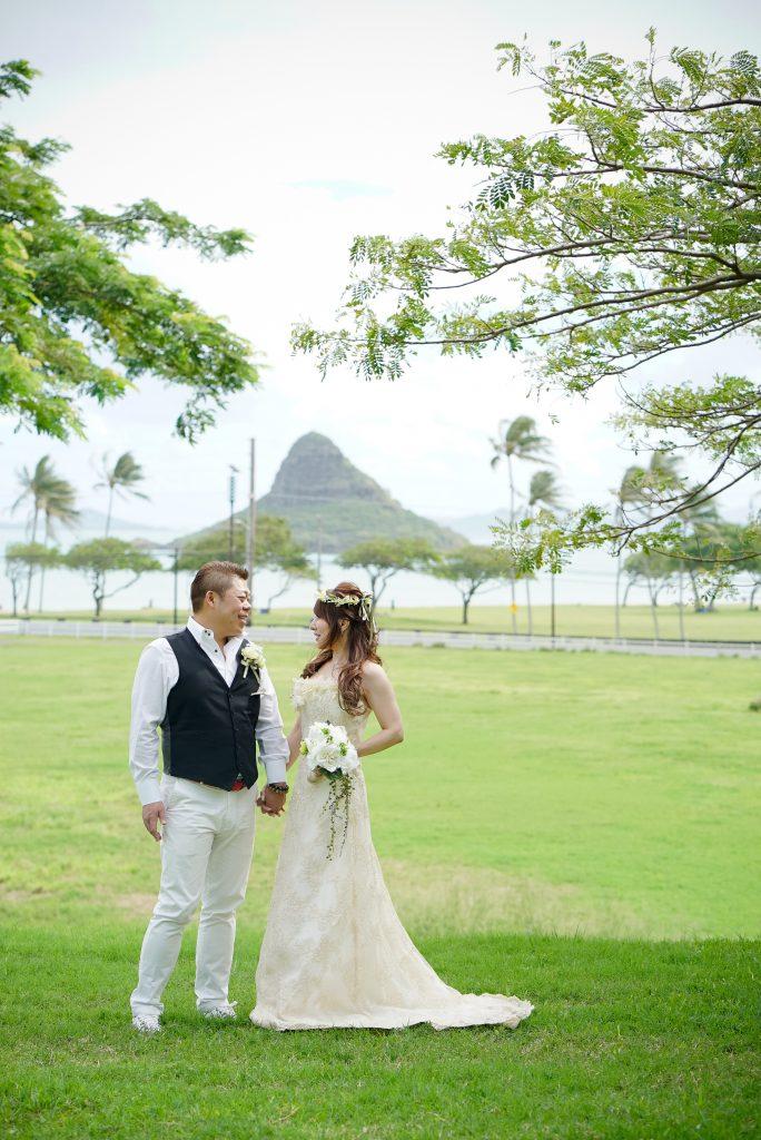 ハワイ ガーデン挙式 フォトウェディング