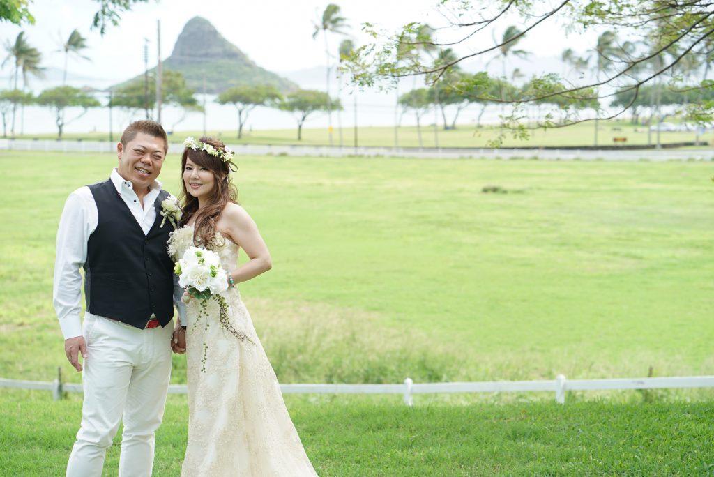 ハワイ 挙式 ハネムーン撮影