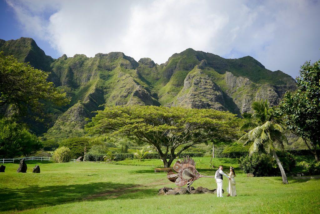 ハワイ クアロアランチ フォトツアー