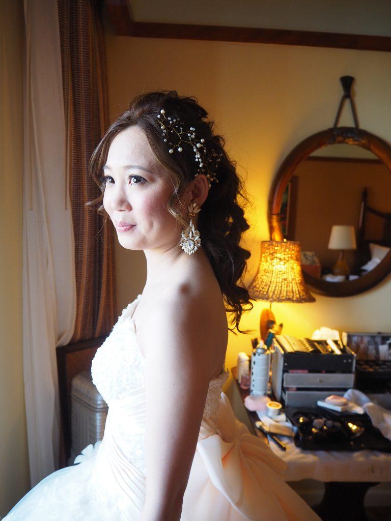 アウラニディズニーリゾート ハワイ ヘアメイク 結婚式