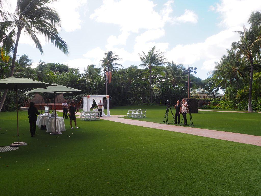 アウラニディズニーリゾート 結婚式
