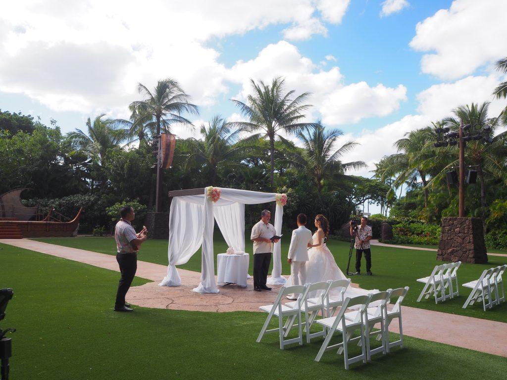 アウラニディズニーリゾート 結婚式 ミッキーミニー