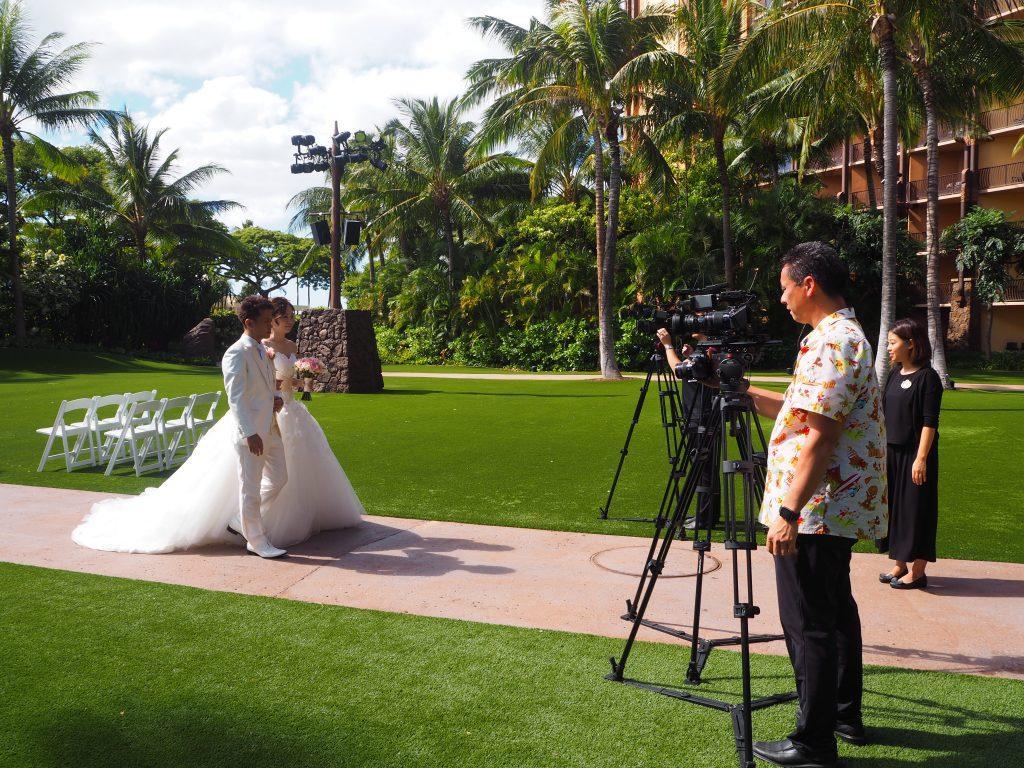ハワイ 挙式 カメラマン アウラニ