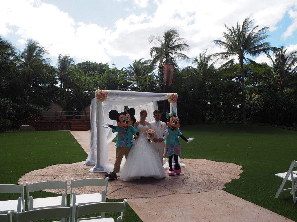 ディズニー 結婚式 ハワイ