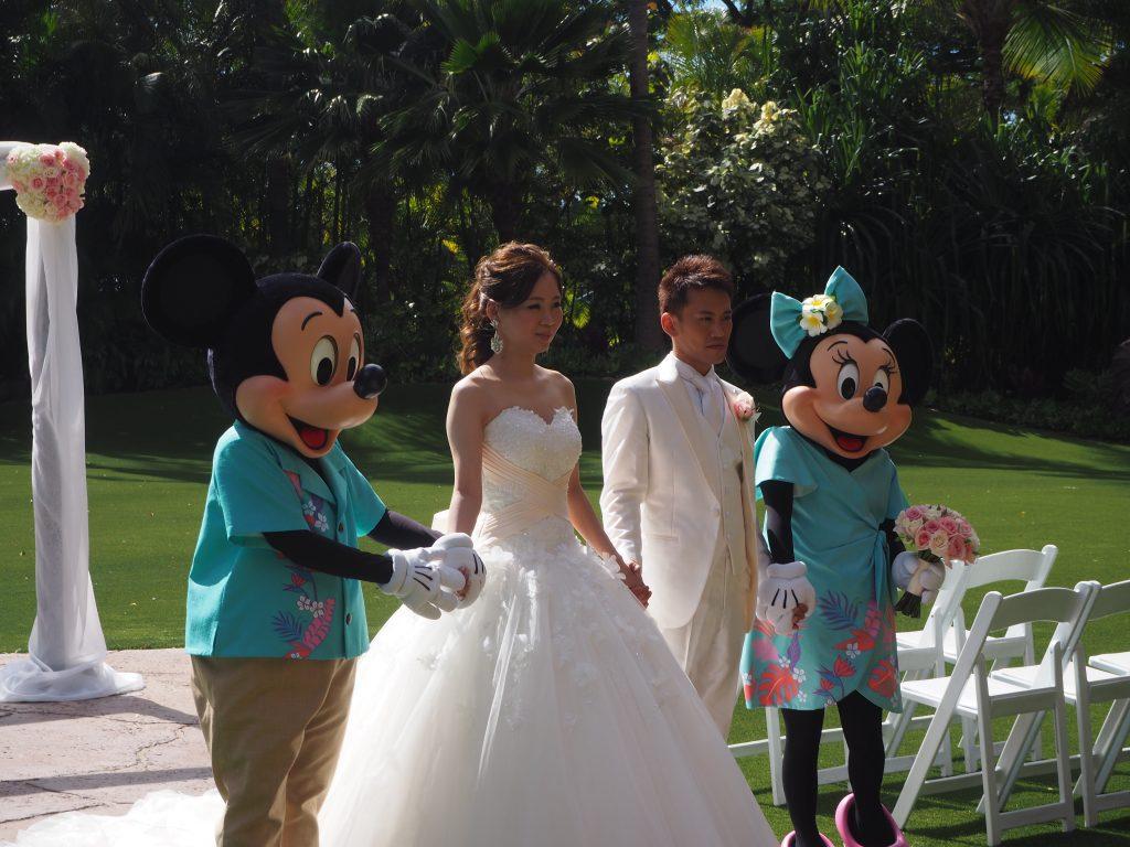 ハワイ結婚式 アウラニディズニーリゾート ヘアメイク