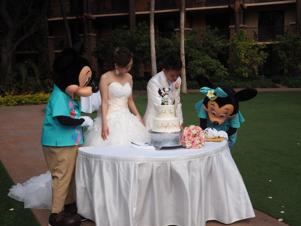 結婚証明書 ハワイ アウラニディズニーリゾート ミニー