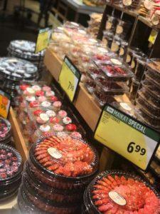 バレンタイン チョコレート スーパーマーケット