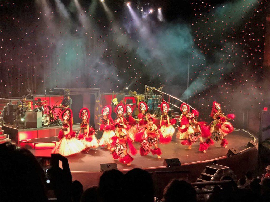 ロックアフラ ロイヤルハワイアンセンター フラダンス ラスベガス ダンス