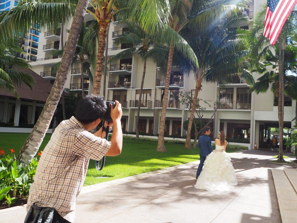 ハワイ ハレクラニホテル 挙式