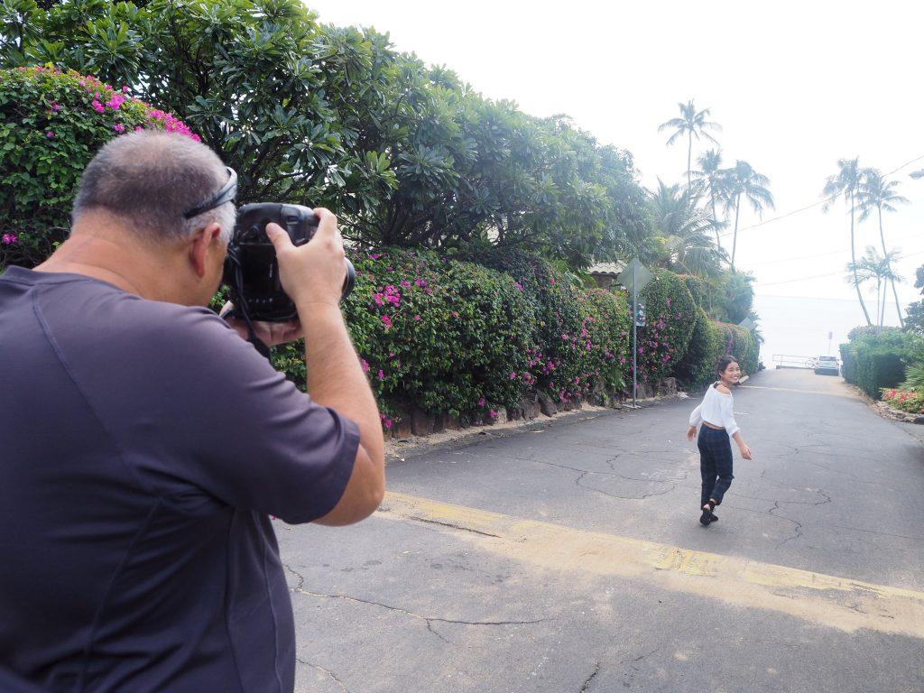 ハワイ 撮影 カハラ付近 人気