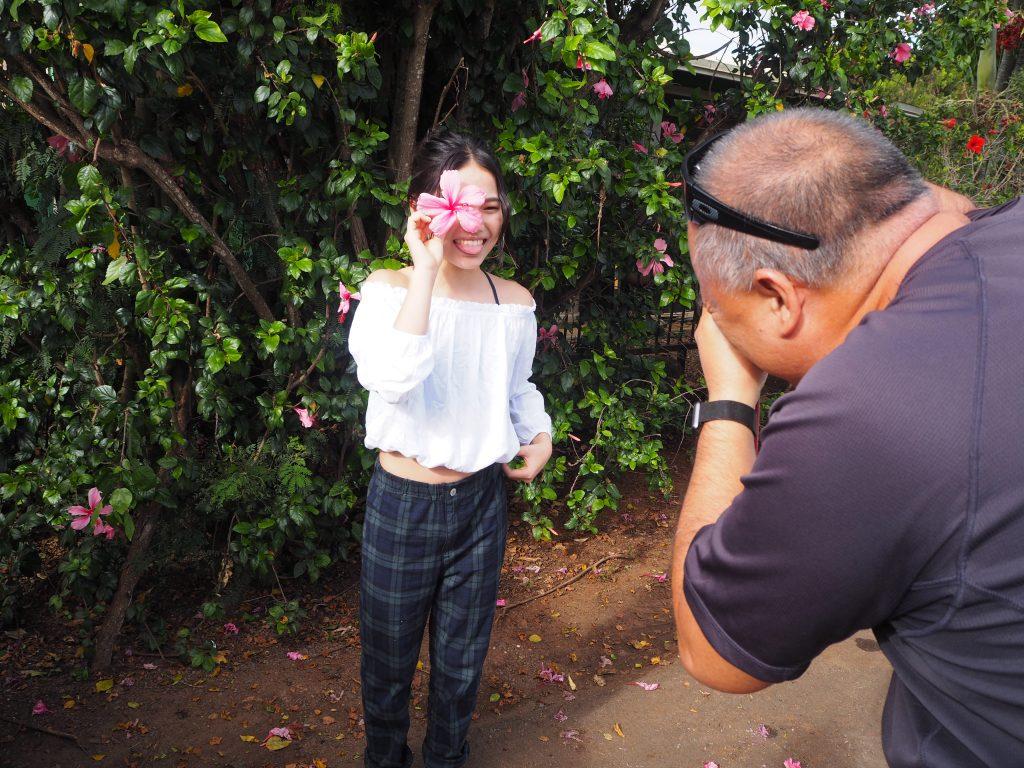 ハワイ 子供 撮影
